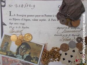 Visite Paris de l'ARGENT
