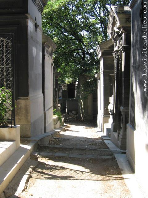 Visite cimetière pere lachaise