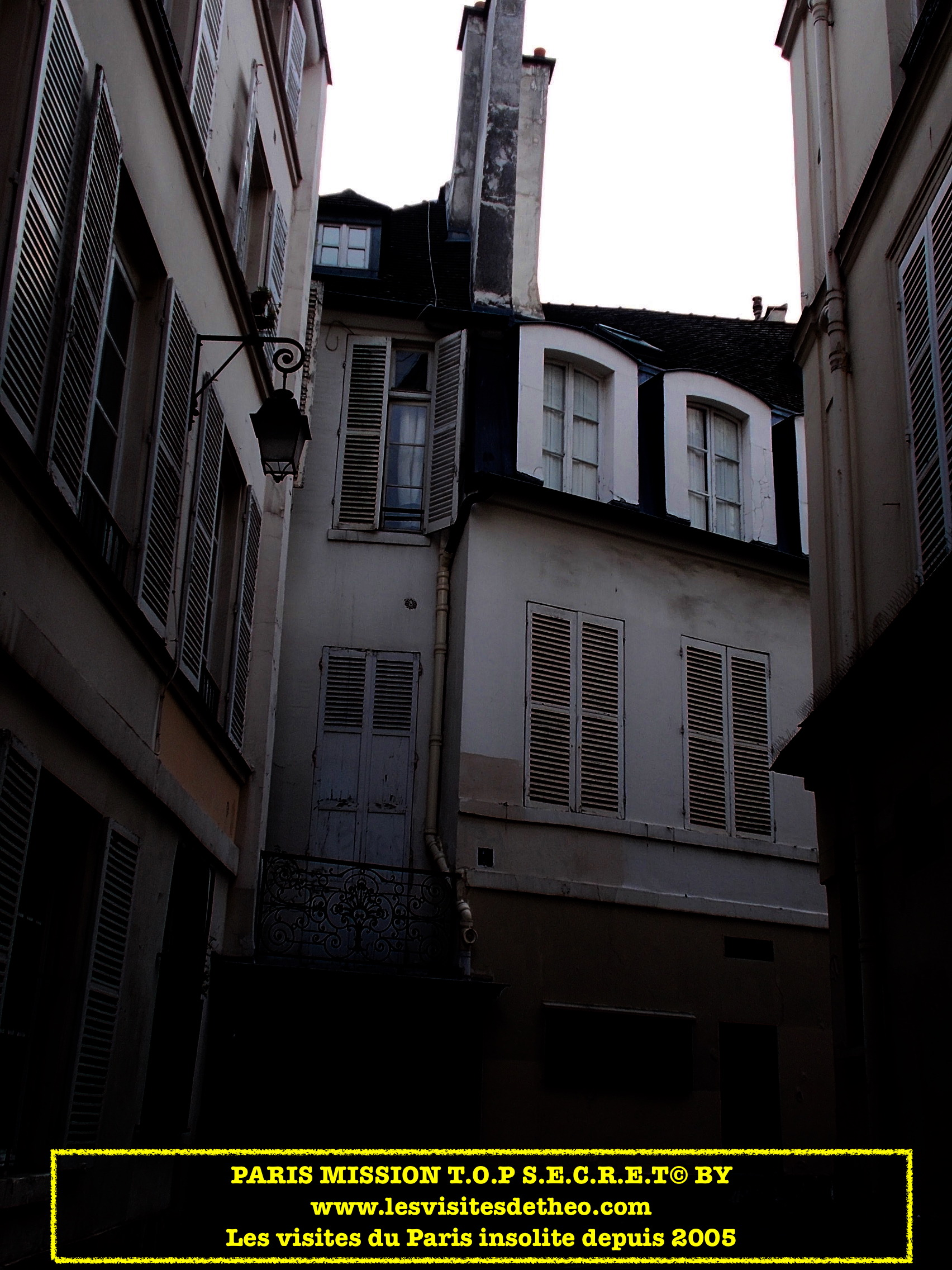 Paris MISSION T.O.P. S.E.C.R.E.T.   ACTE I