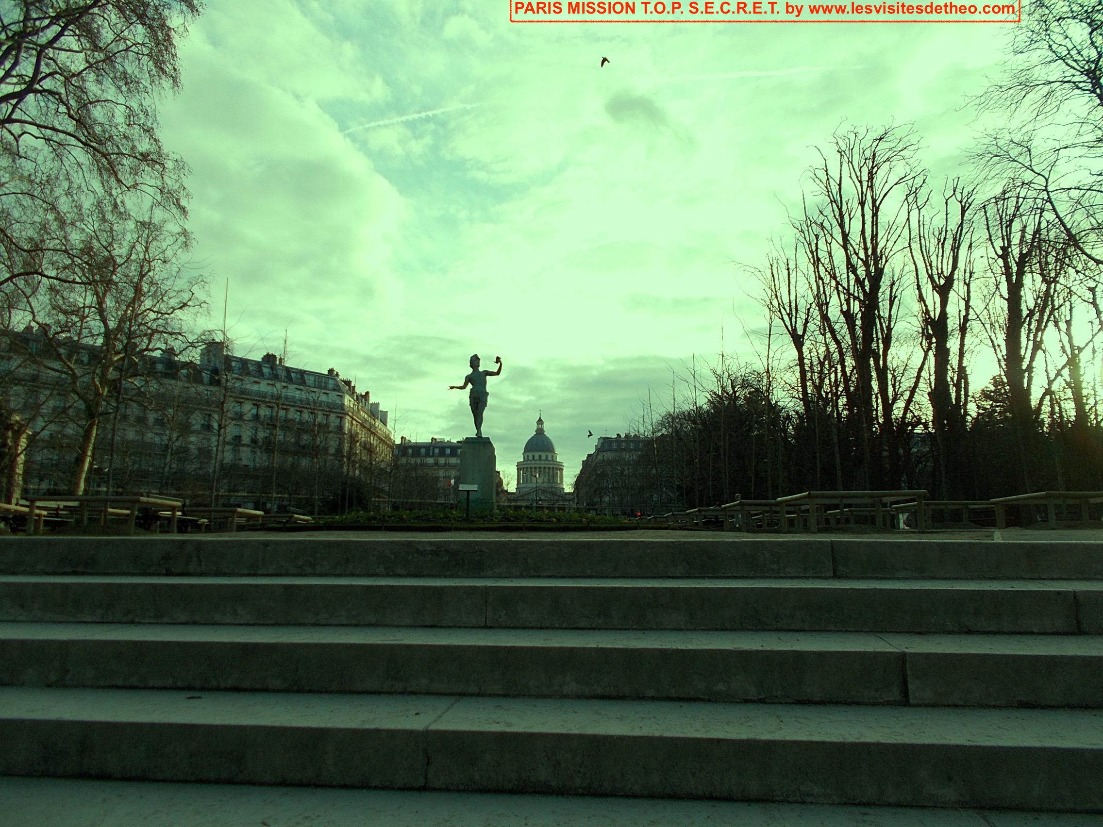 Paris MISSION T.O.P. S.E.C.R.E.T. ACTE II
